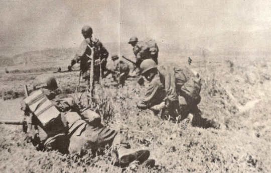 The Filipino troops in action in the Korean War (image courtesy of generlada)